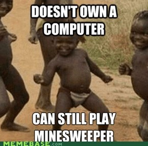 Third World Success Kid Always Plays Hard Mode