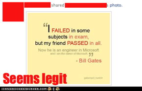 Bill Gates talks as this
