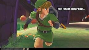 Run Faster, I hear Navi...