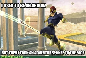 I used to be an arrow...