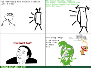 Rage Comics: He Needs to Get Out of the Cave More