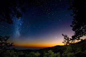 Starry Night, Troodos Mountain, Cyprus