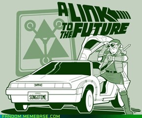 Legend of Zelda: DeLorean of Time