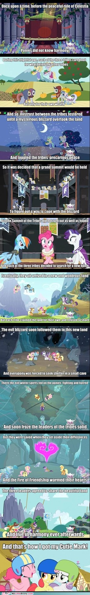 Pinkie Sure Knows How to Tell a Story