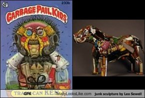 GPK Totally Looks Like junk sculpture by Leo Sewell