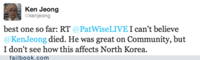 Twitter and the Death of Kim Jong Il