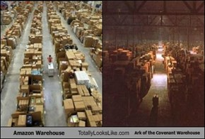Amazon Warehouse Totally Looks Like Ark of the Covenant Warehouse