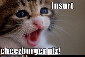 Insurt  cheezburger plz!