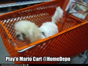 Play'n Mario Cart @HomeDepo
