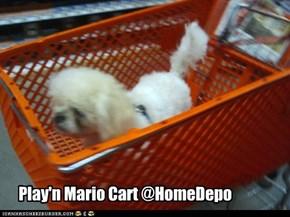 Play'n Mario Cart @HomeDepo