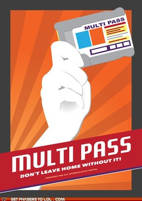 Multi Pass Poster