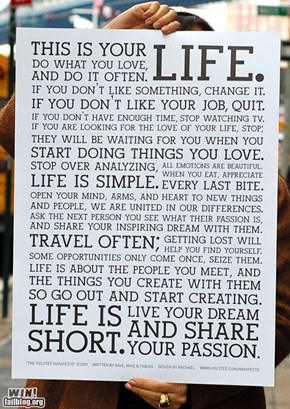 Life Manifesto WIN