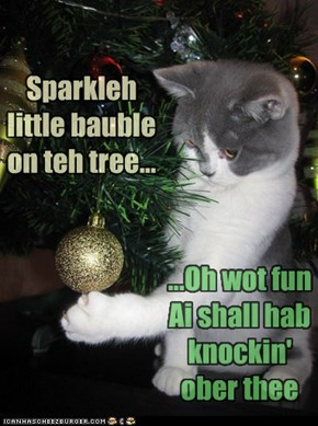 A LolKitteh Ode to Christmas ;)