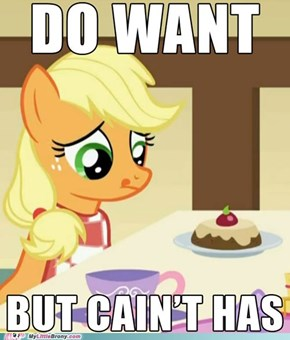 But You Deserve It Applejack