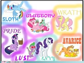 The seven pony sins