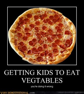 GETTING KIDS TO EAT VEGTABLES