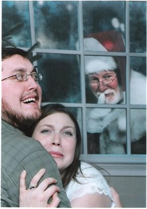 Santa, He be Creepin'
