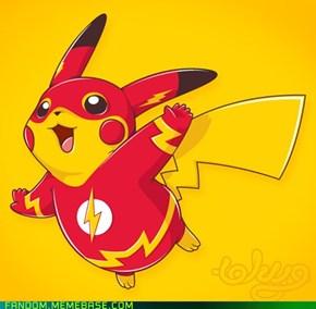 Faster, Pikachu!