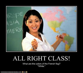 ALL RIGHT CLASS!