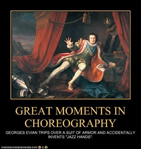 GREAT MOMENTS IN CHOREOGRAPHY