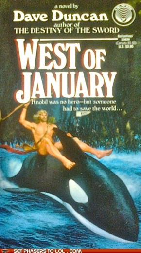 WTF Fantasy Book Covers: West of January