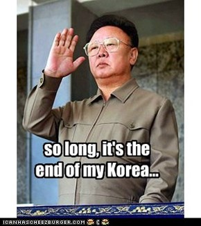 so long, it's the end of my Korea...