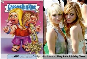 GPK Totally Looks Like Mary Kate & Ashley Olsen