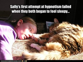 Hypnosis... you're doing it wrong.