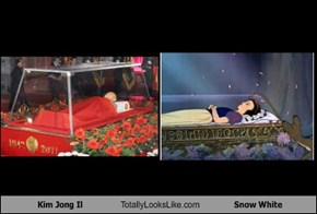 Kim Jong Il Totally Looks Like Snow White