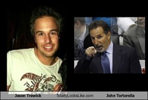 Jason Trawick Totally Looks Like John Tortorella