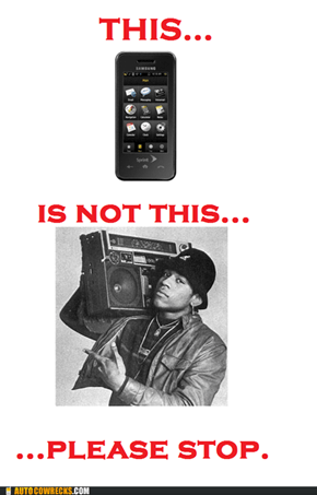 Autocowrecks: Your Smartphone Is Not Your Boom Box
