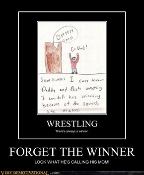 FORGET THE WINNER