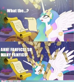 Fanfics! Run for cover!