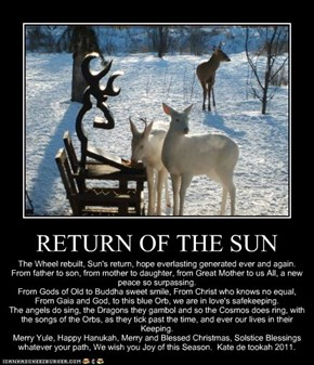 RETURN OF THE SUN
