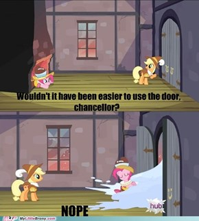 Did Pinkie Just Make Sense?