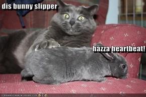 dis bunny slipper