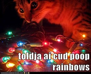toldja ai cud poop rainbows