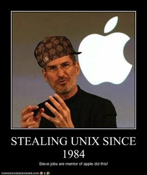 STEALING UNIX SINCE 1984