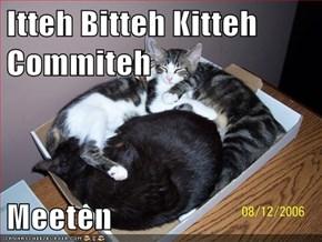 Itteh Bitteh Kitteh Commiteh  Meeten