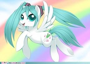 Miku Pony!