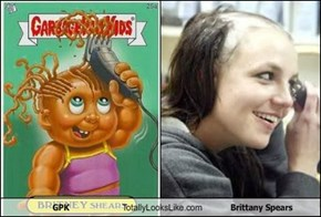 GPK Totally Looks Like Brittany Spears