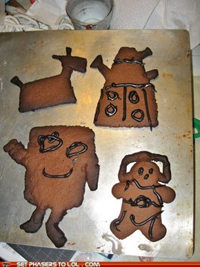 Gingerbread Who Creatures
