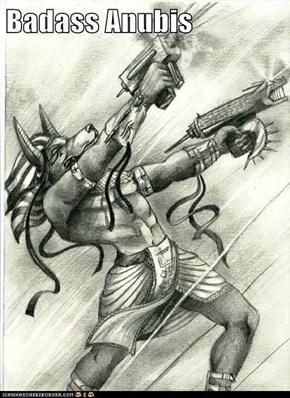 Badass Anubis