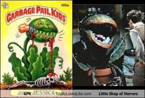 GPK Totally Looks Like Little Shop of Horrors