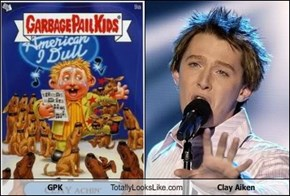 GPK Totally Looks Like Clay Aiken