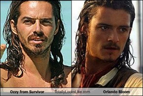 Ozzy from Survivor Totally Looks Like Orlando Bloom