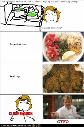 Cooking expectations