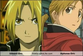 Edward Elric  Totally Looks Like Alphonse Elric