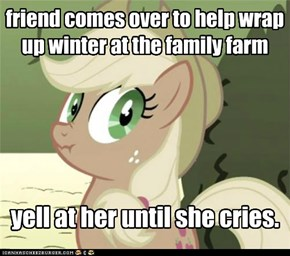 twilight only wanted to help.