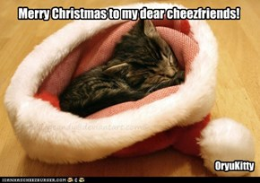 Merry Christmas to my dear cheezfriends!